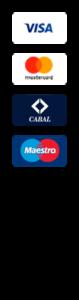 Logotipo de tarjetas y formas de pago