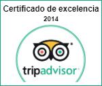 Certificado de excelencia 2014